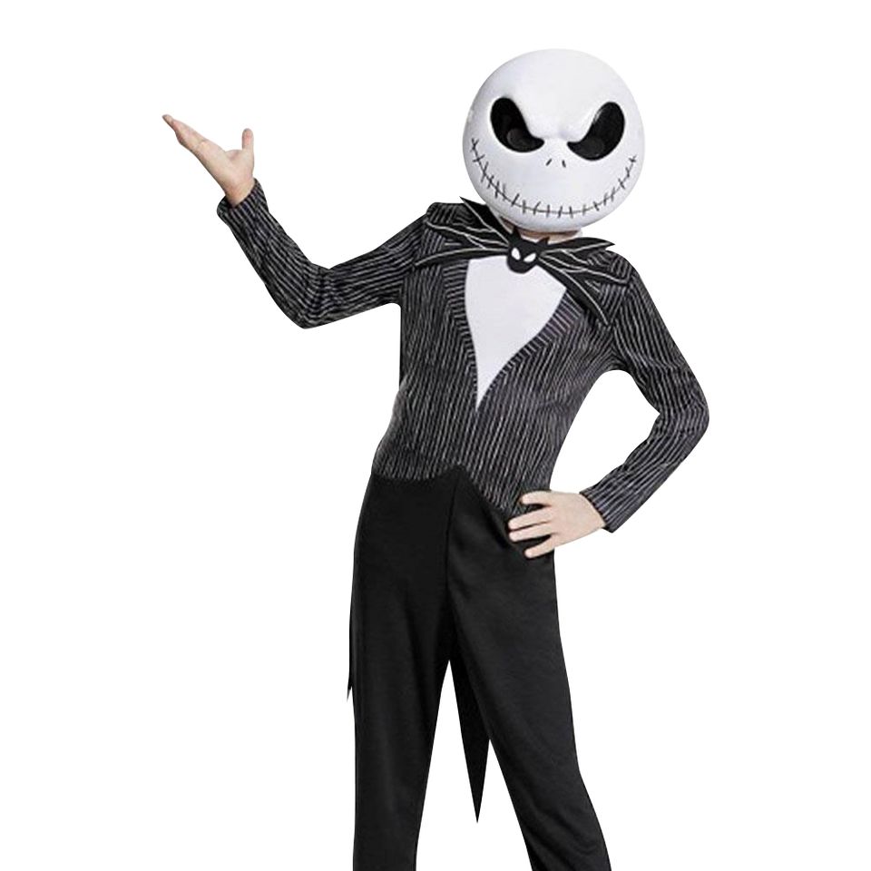 Nightmare Before Christmas Jack Skellington Kids Disney Licensed Costume - Large (10/12)