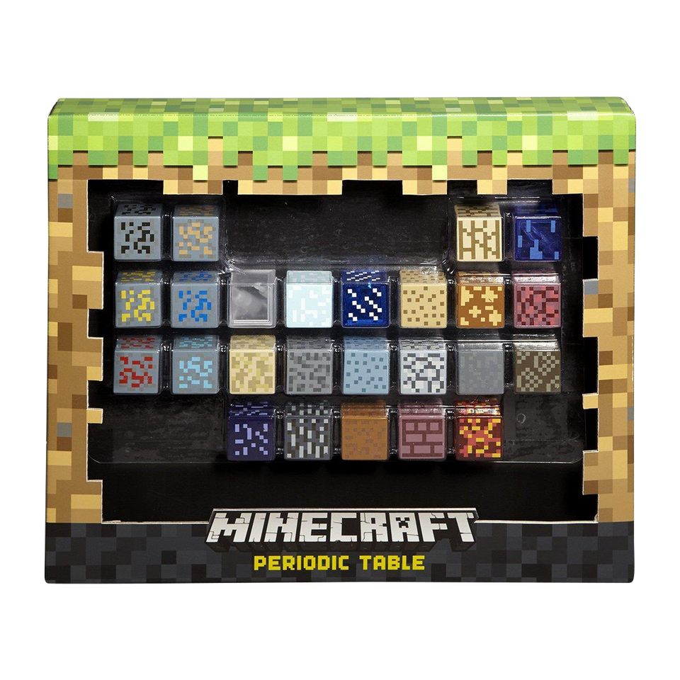 Minecraft Periodic Table of Elements Mattel