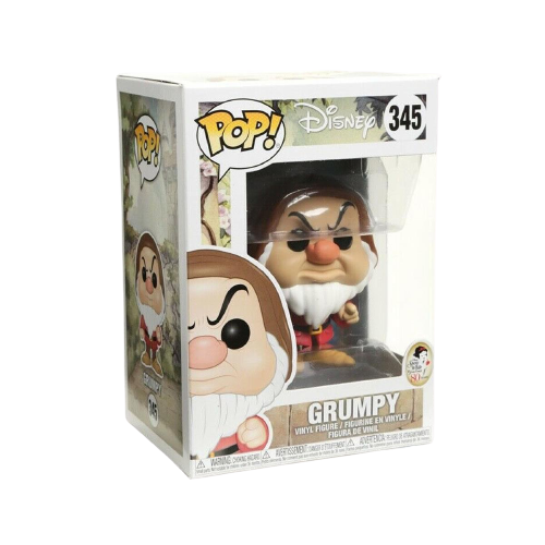 Disney Snow White Grumpy Collectible Stylized Vinyl Figure