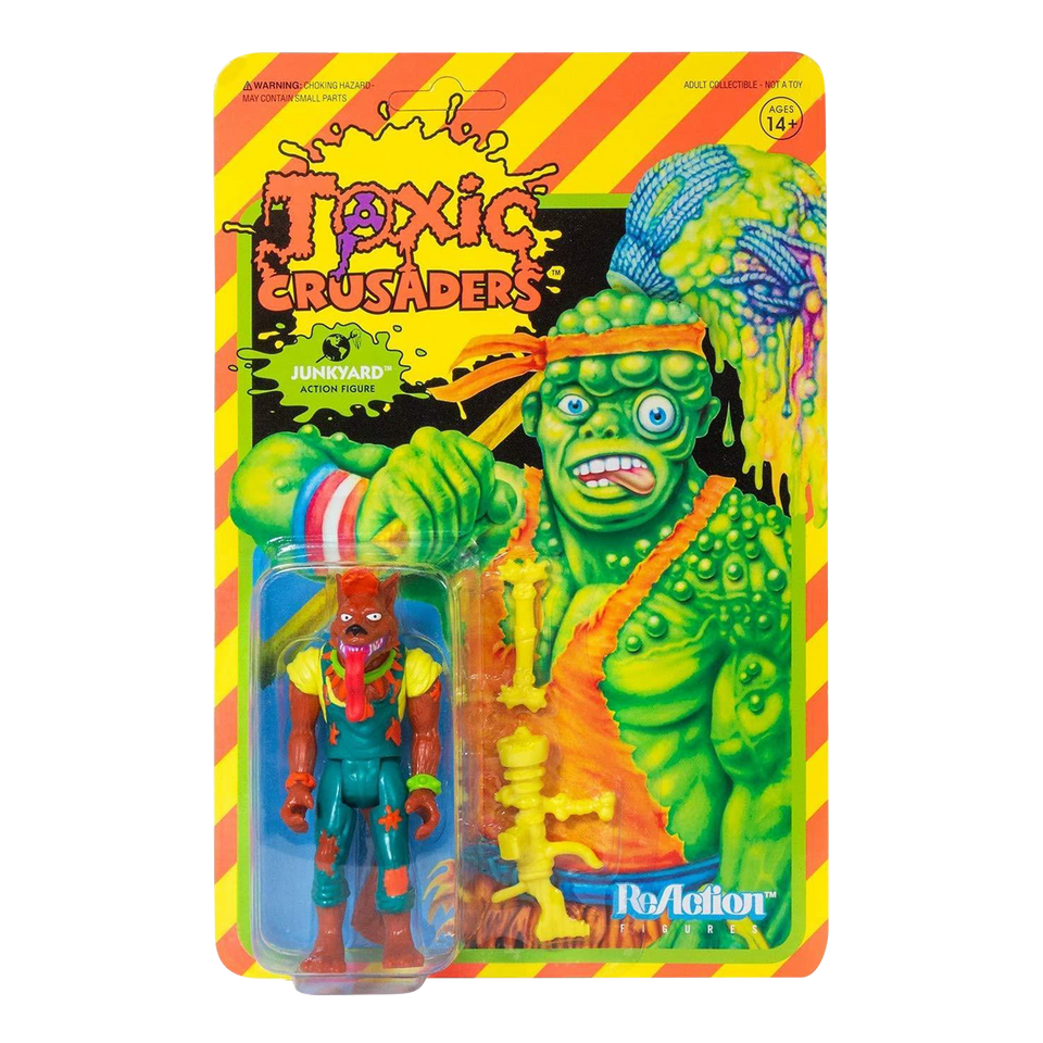 Junkyard Toxic Crusaders Reaction Retro Action Figure Super7