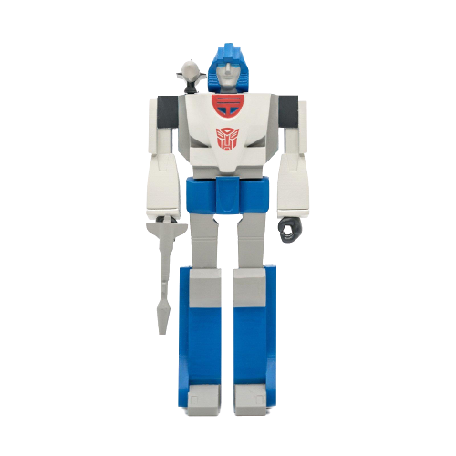 Transformers Mirage ReAction Figure Wave 2 - Articulated (Retro)