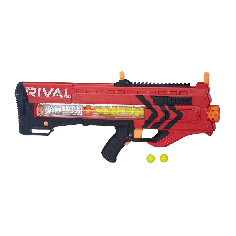 Nerf Rival Zeus MXV-1200 Blaster Team Red Motorized 12-Rounds Hasbro