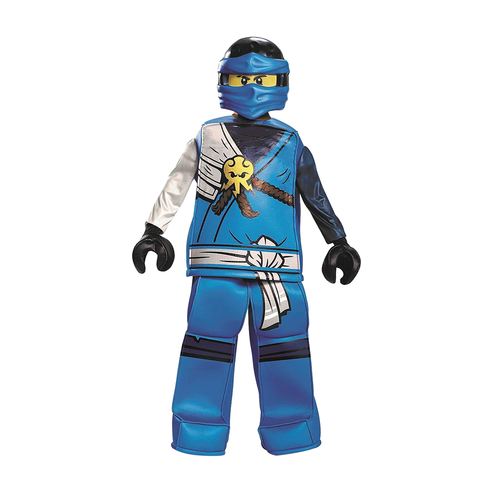 Lego Ninjago Jay Prestige Boys size S 4/6 Licensed Costume Disguise