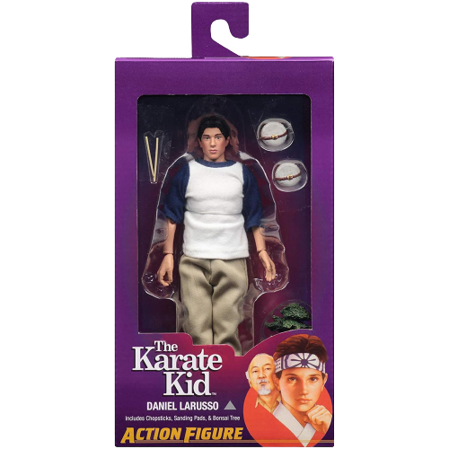 The Karate Kid Daniel LaRusso Clothed Action Figure 8""