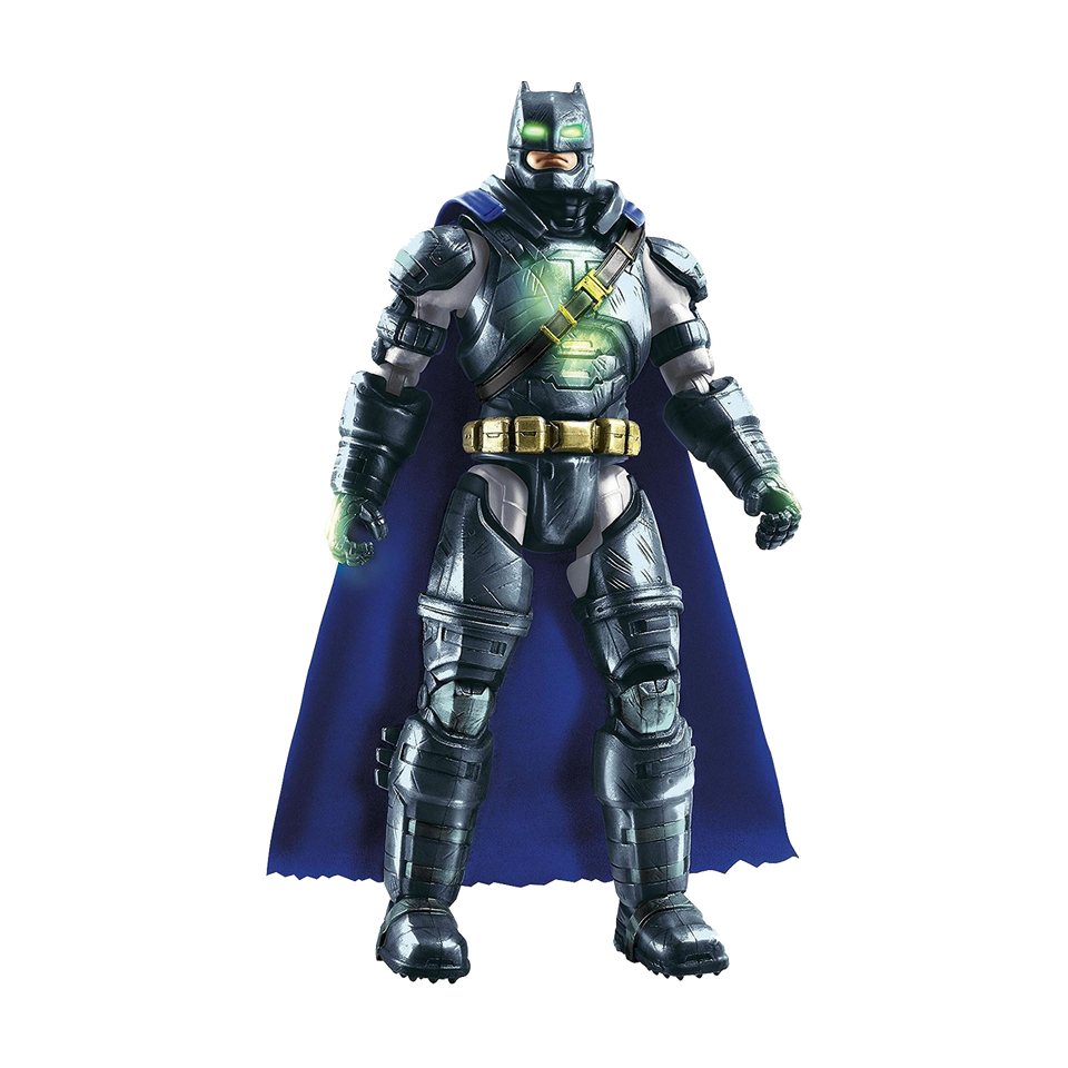 "Mattel Batman Glow in Dark Figure Superman: Dawn of Justice Action Movie 12"" Toy"