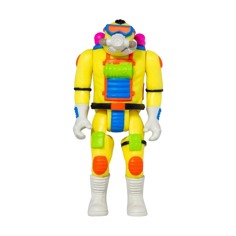 Radiation Ranger Toxic Crusaders Retro Design Reaction Action Figure - Articulated (Retro)
