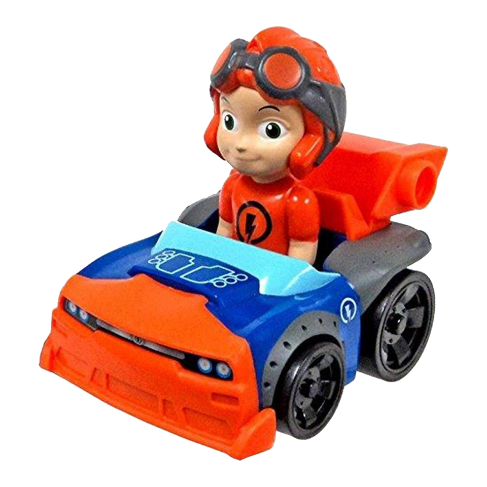 Spin Master Nickelodeon Rivets Rusty Racer Orange Car