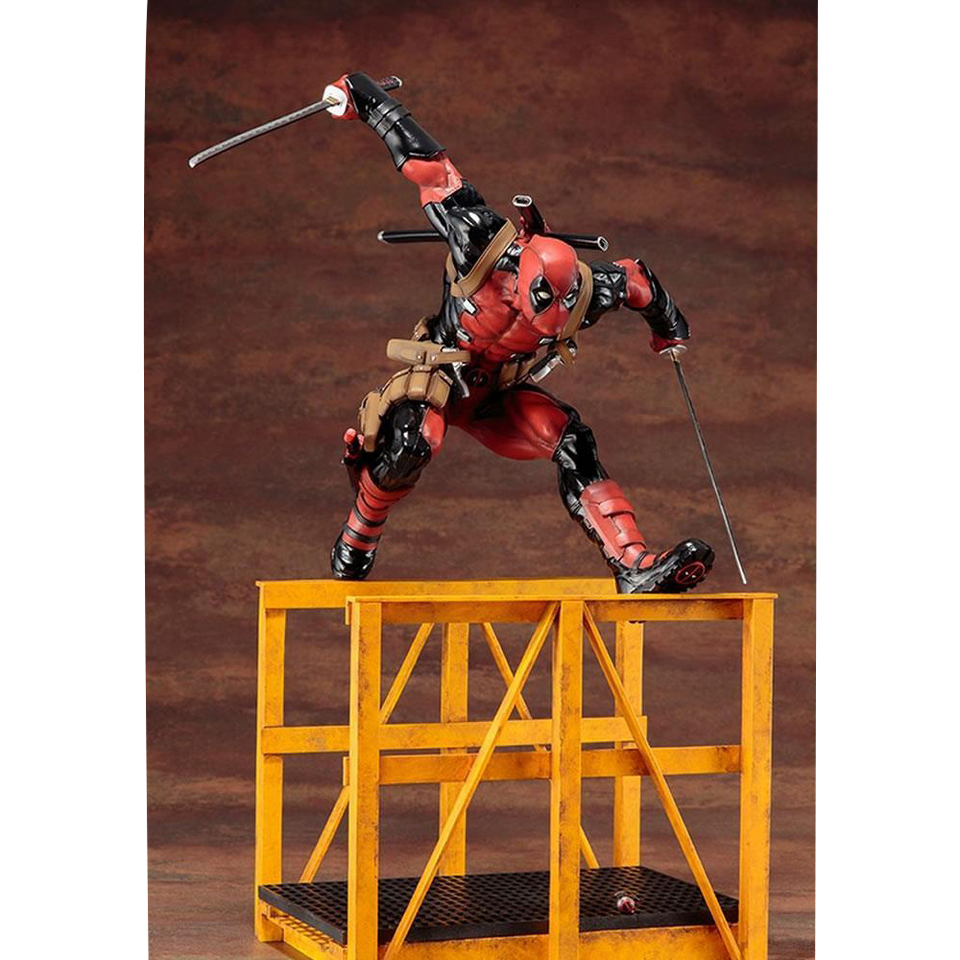 Kotobukiya Marvel Now! Super Deadpool ArtFX+ Statue w/Accessories Collectible Figure OCT162924