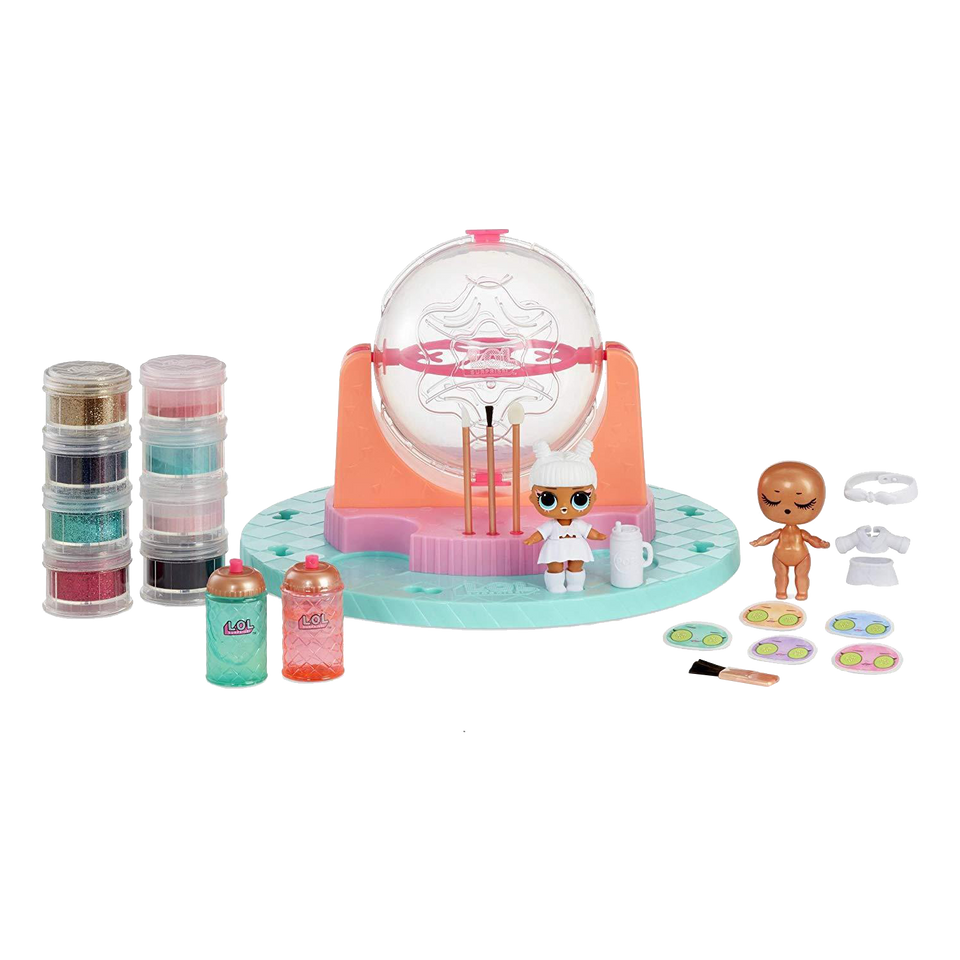 MGA L.O.L. Surprise! Glitter Factory Playset Exclusive LOL Doll DIY Decorate