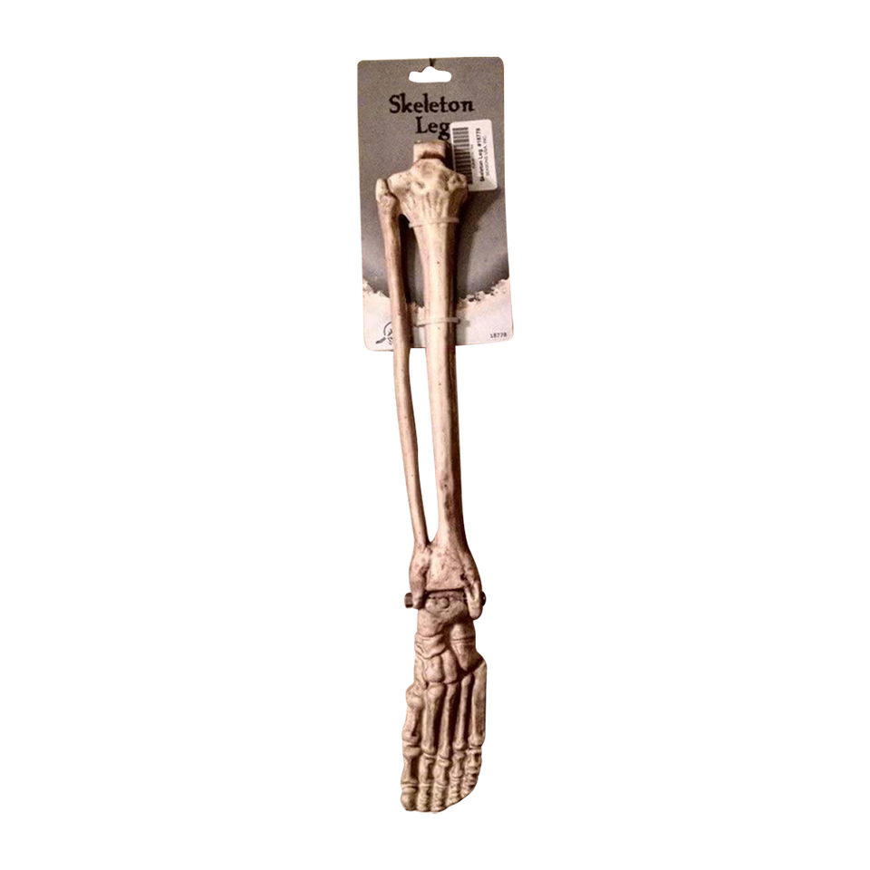 Crazy Bonez Skeleton Leg Bone Scary Halloween Decor