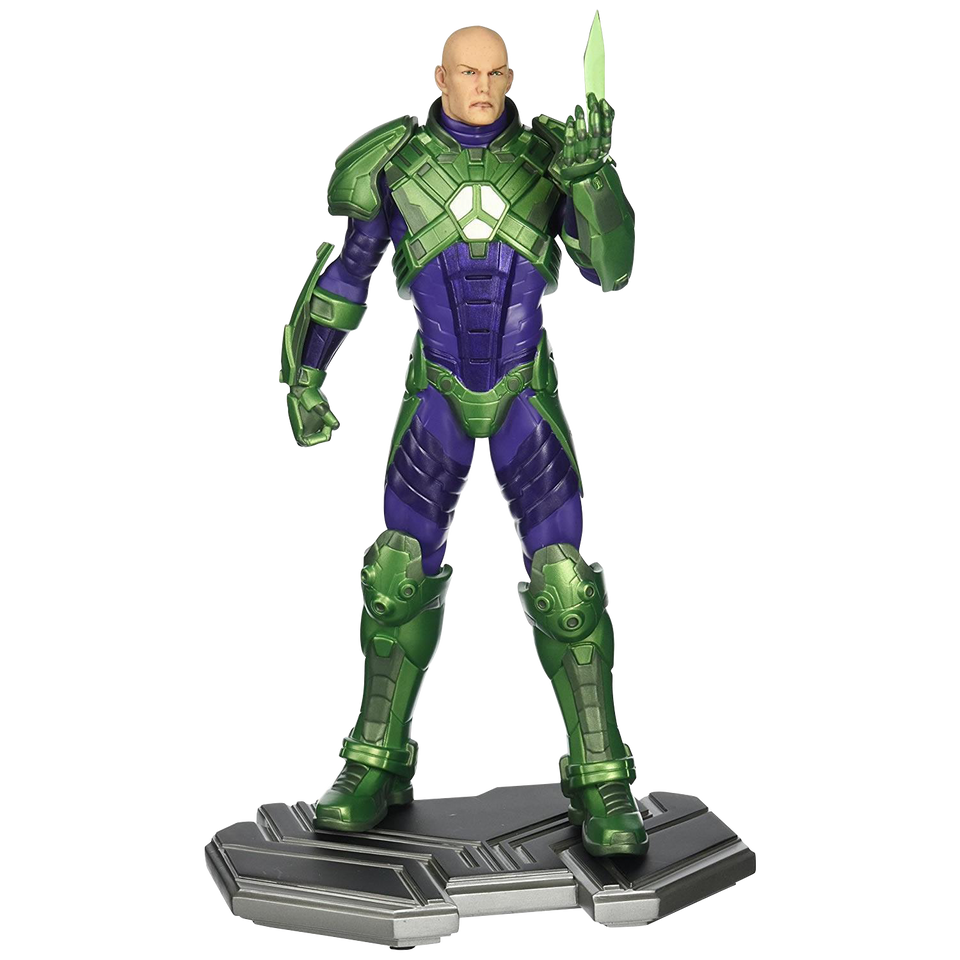 Lex Luthor Statue Supermans Foe Justice League Limited Ed Figure