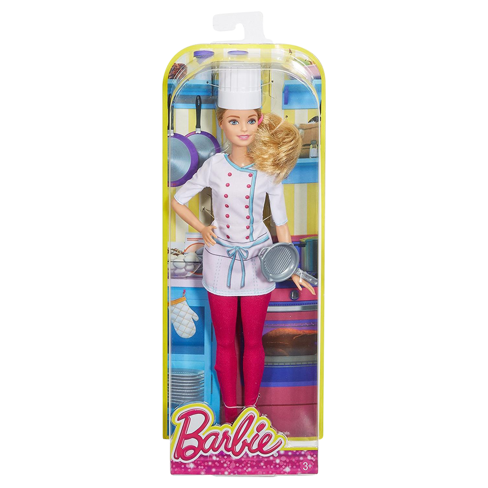 Barbie Careers Collection Series: Chef Doll with Frying Pan