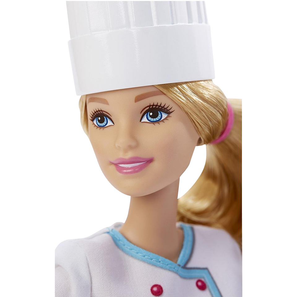 Mattel Barbie Careers Collection Series: Chef Doll w/Frying Pan