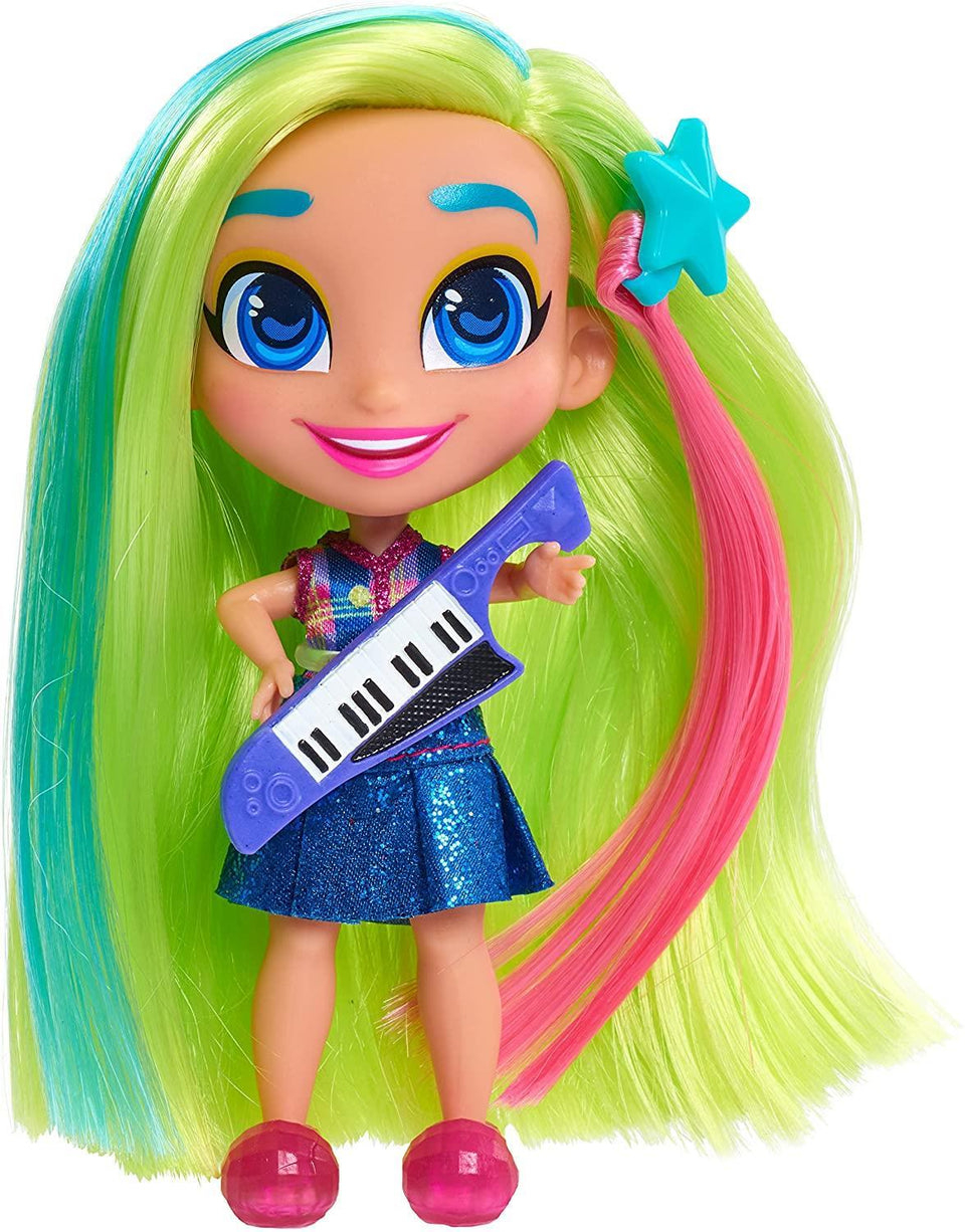 Hairdorables Stylish Dolls Series 1 Bright Colorful Big Hair Stilose Assorted Just Play