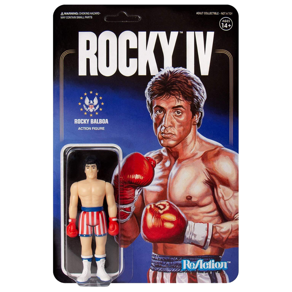 Rocky IV Rocky Balboa Collectible Boxing Action Figure Super7