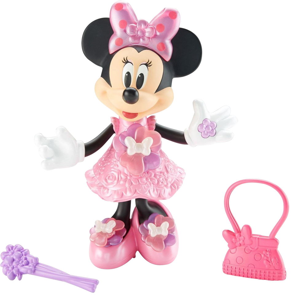 Disney Junior Bloomin' Bows Minnie Mouse Singing Figure Doll Fisher-Price DMC76