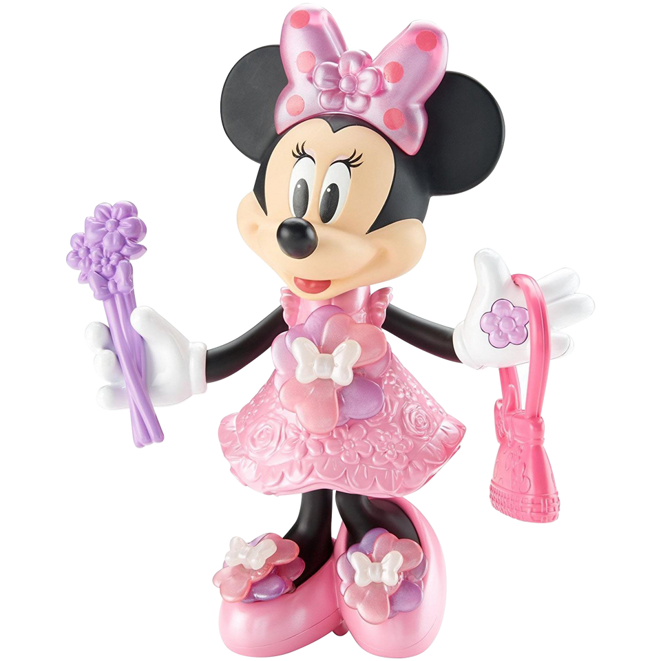 Disney Junior Bloomin Bows Minnie Mouse Singing Figure Doll Fisher Pr Archies Toys