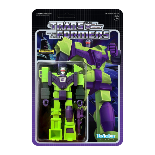 Transformers ReAction Wave 3 Devastator Action Figure - Articulated (Retro)