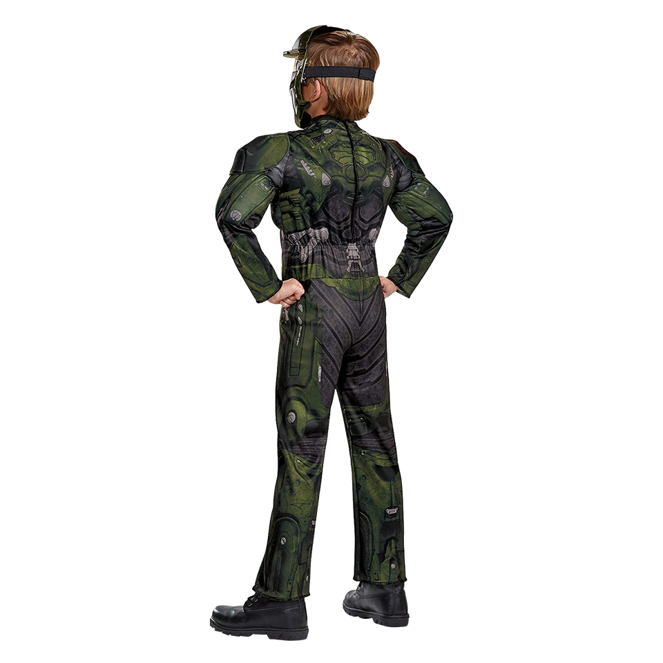 Halo Wars 2 Jerome Classic Muscle Kids size M 7/8 Licensed Costume Microsoft Disguise