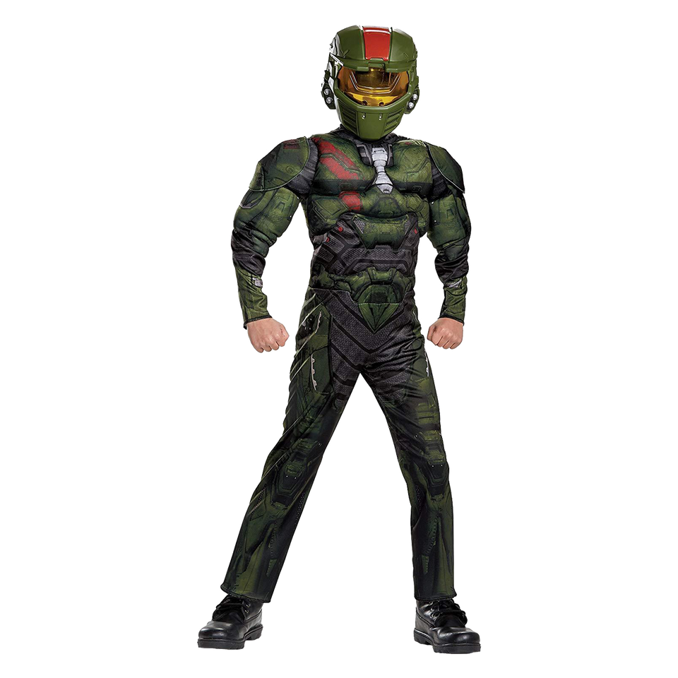 Halo Wars 2 Jerome Classic Muscle Kids Licensed Costume Microsoft - Medium (7/8)