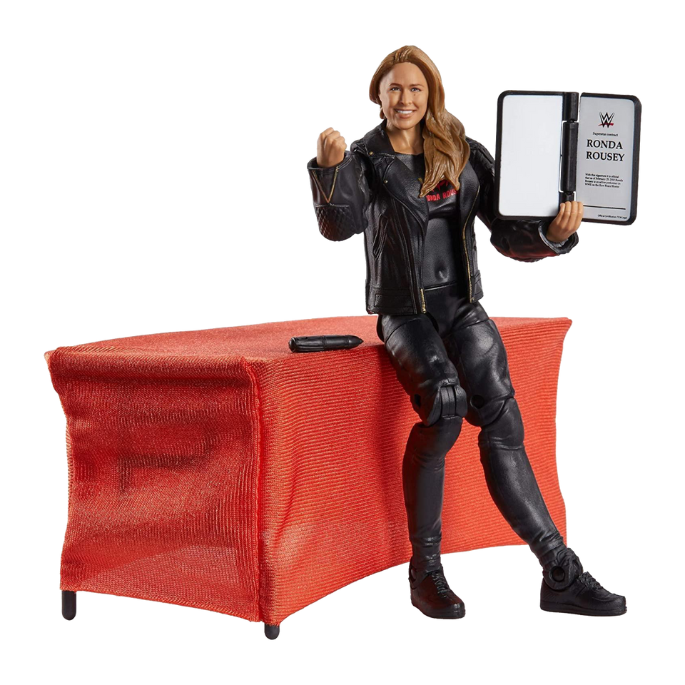 WWE Ronda Rousey Elite Collection Wrestling Action Figure