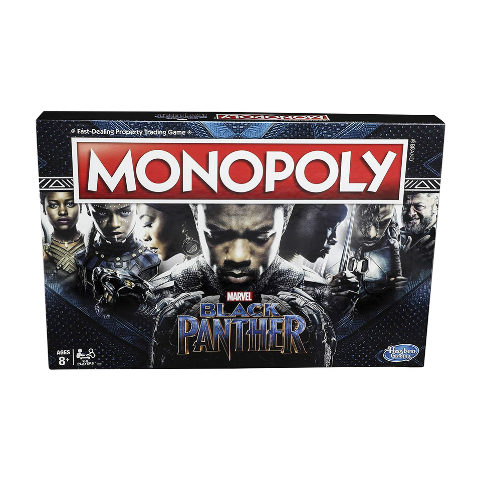Monopoly Game: Black Panther Marvel Edition Board Game Hasbro