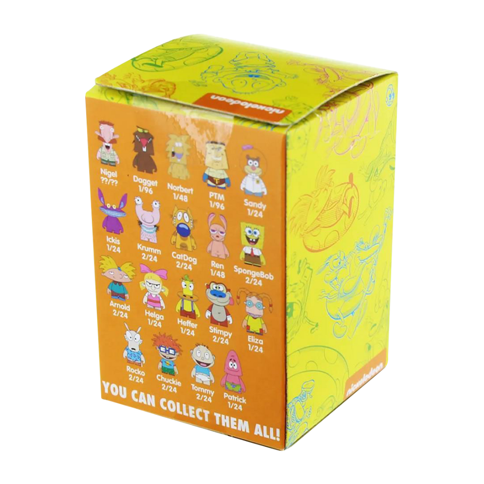 Kidrobot Nickelodeon Blind Box Mini Series Figure 90's Cartoon Mystery