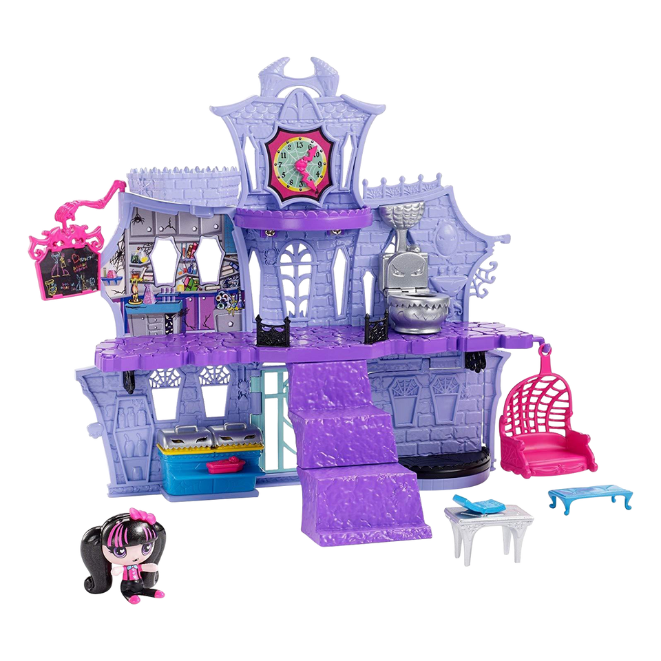 Monster High Minis Playset Draculaura Figure Castle
