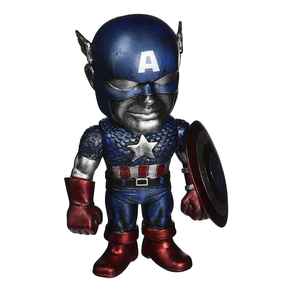 Marvel Hikari Titanium Captain America Funko Vinyl Figure Limited Edition Blue 10891FU10891