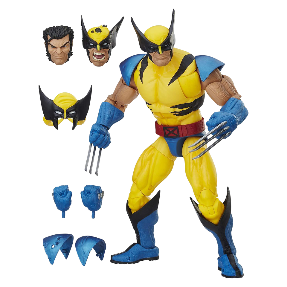 "Hasbro Marvel Legends Wolverine 12"" Collectible Action Figure"