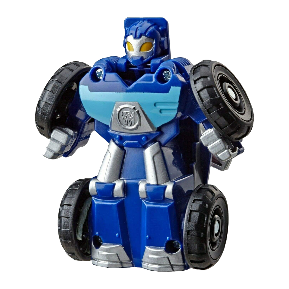 Transformers Rescue Bots Flip Racers 4-Pack Heatwave Boulder Whirl Bumblebee Hasbro