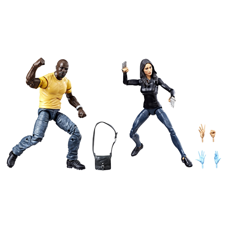 Hasbro Marvel's Luke Cage & Claire Temple  Legends Series Exclusive 2-Pack