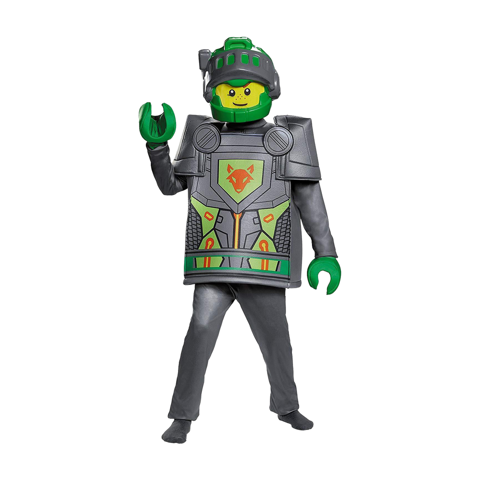 Lego Nexo Knights Aaron Deluxe Boys Costume - Medium (7/8)