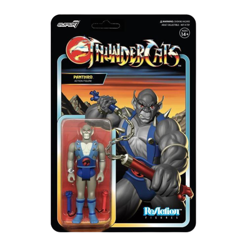 ThunderCats Reaction Panthro Figure - Articulated (Retro)