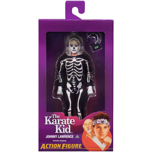 The Karate Kid Johnny Lawrence Clothed Action Figure 8""