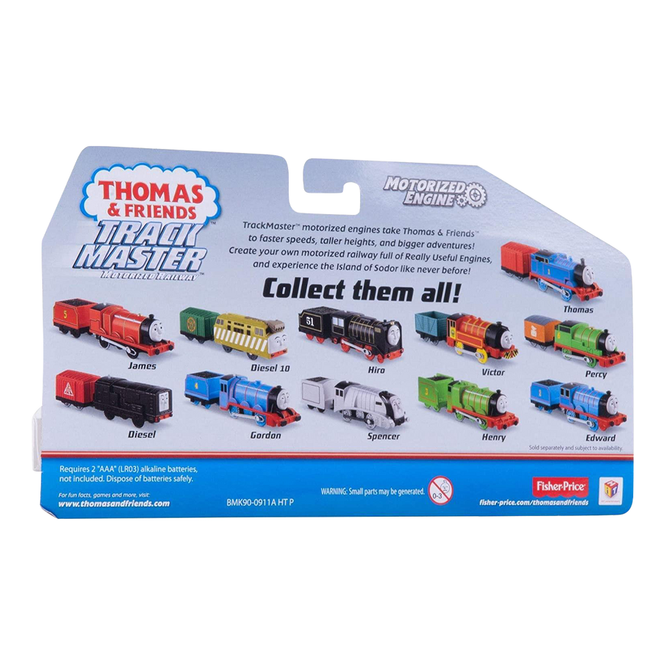 Thomas & Friends James Motorized Engine TrackMaster Train Toy