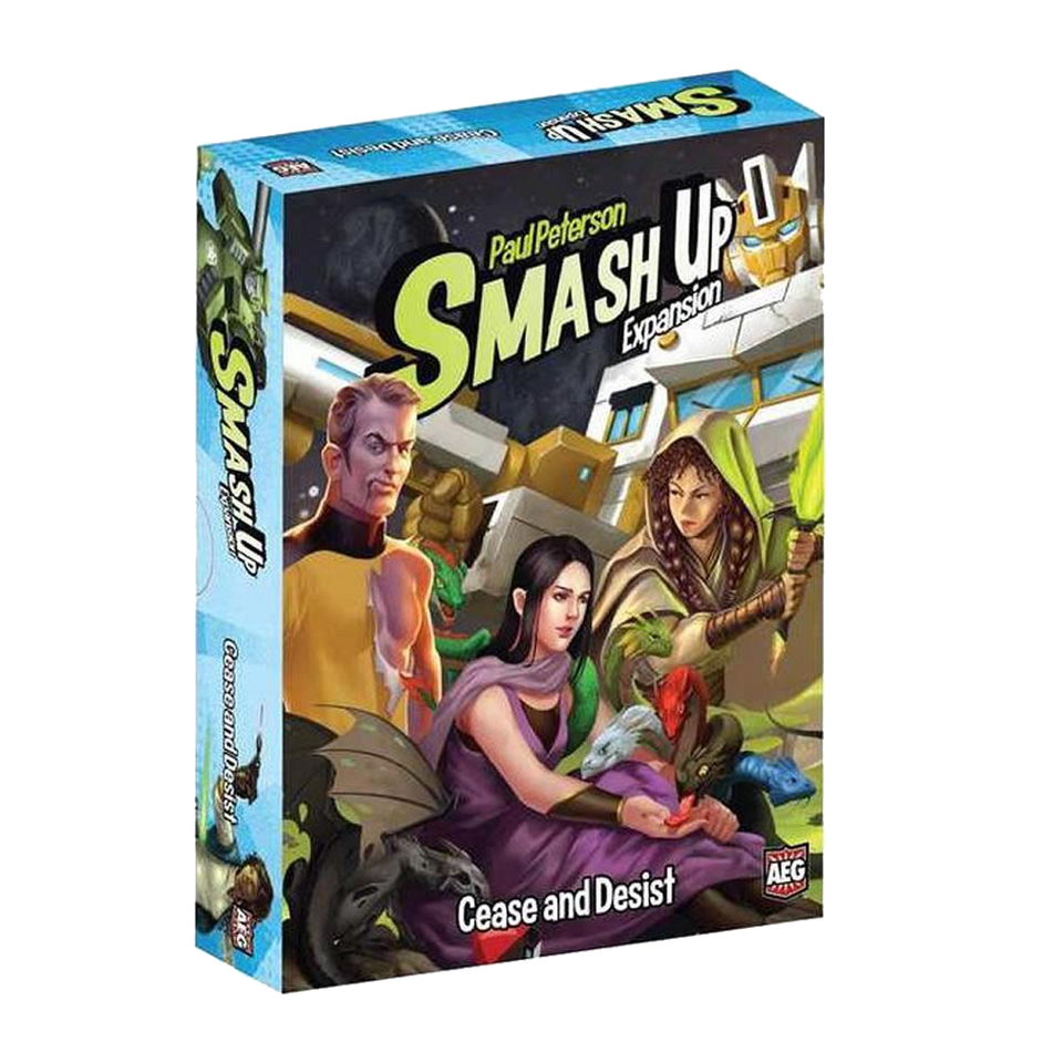 Smash Up: Cease and Desist Card Game Expansion Multi-Player Fun