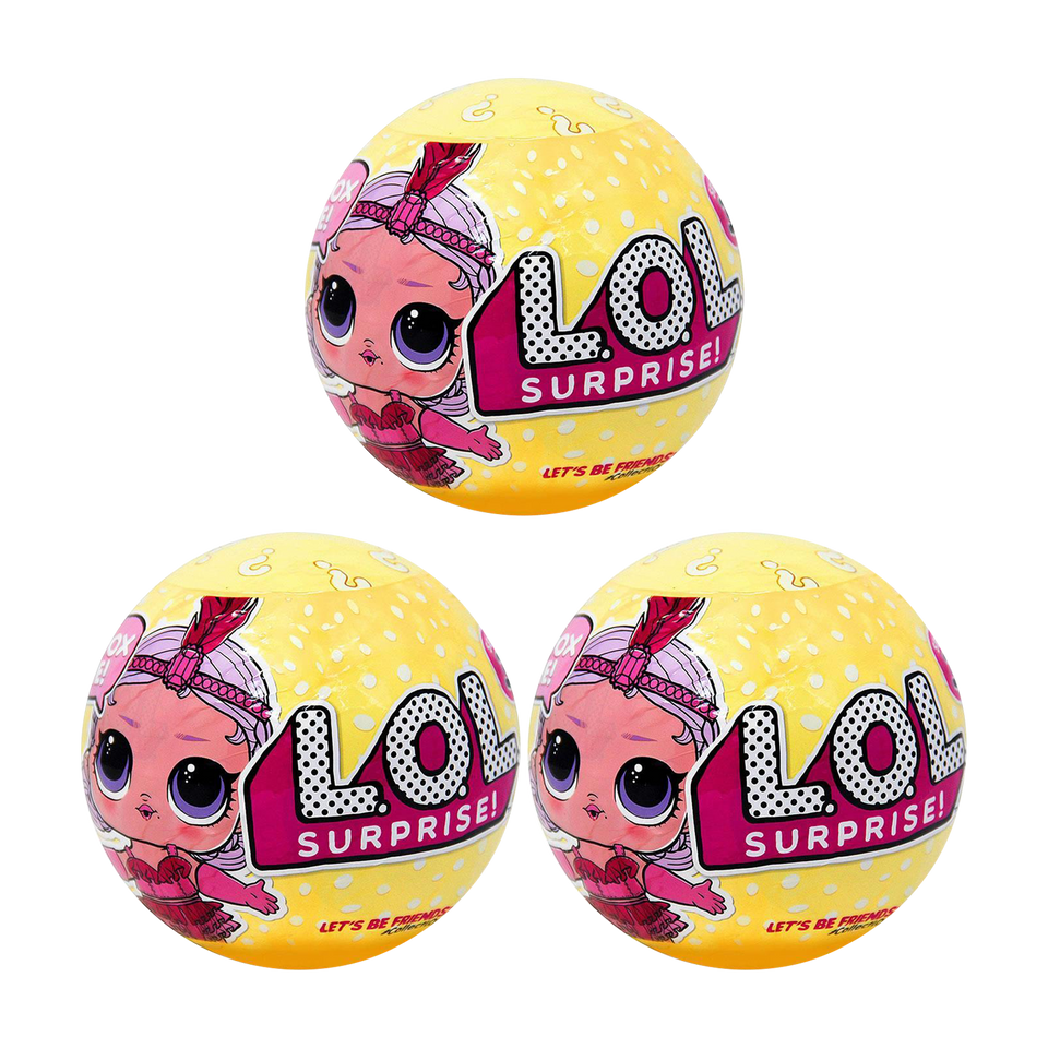L.O.L. Surprise! Series 3 Wave 1 Big Sister 3-Pack