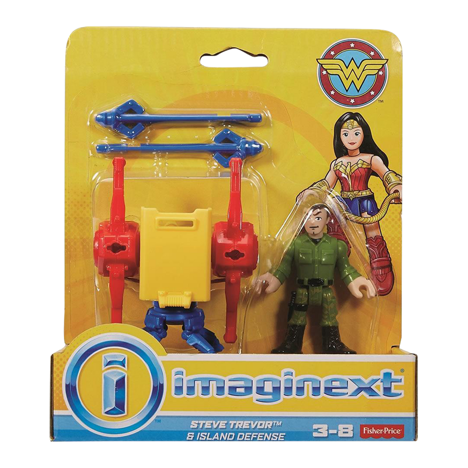 Fisher-PriceImaginext Wonder Woman Steve Trevor & Island Defense