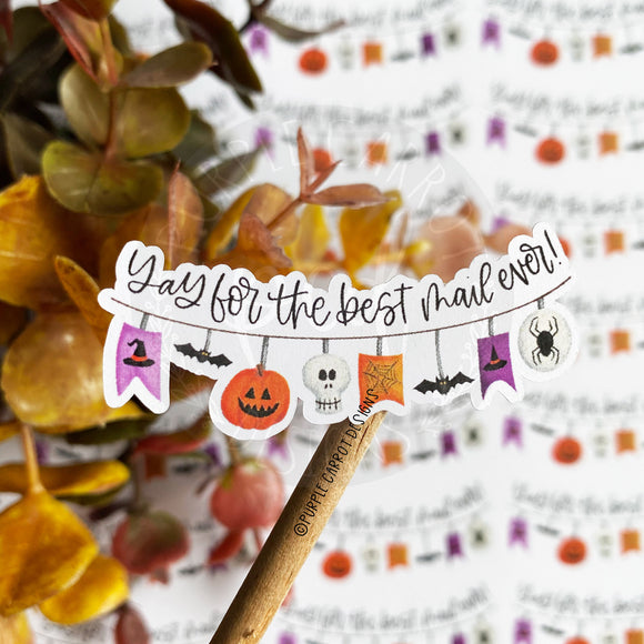 Yay for the Bet Mail Ever Halloween Sticker©