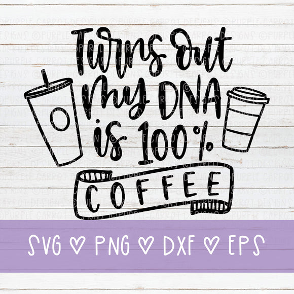 Coffe DNA Cut File