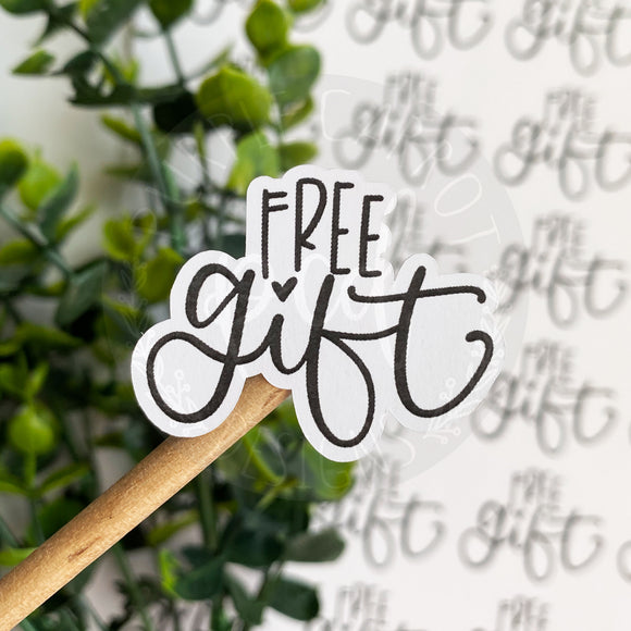 Foiled Free Gift Sticker