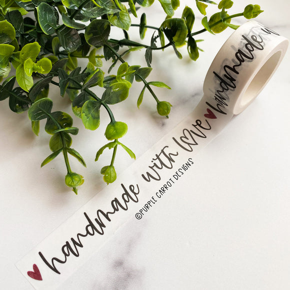 Handmade With Love Washi Tape©