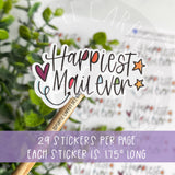 Happiest Mail Every Sticker ©