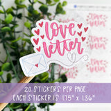 Love Letter Sticker ©