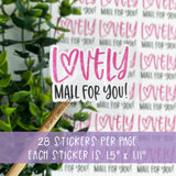 Lovely Mail For You Sticker©
