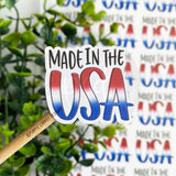 Made in the USA Sticker©