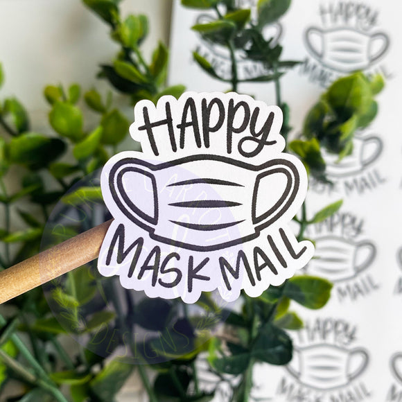 Maks Mail Foiled Sticker©