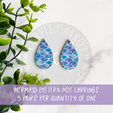 Mermaid Teardrop Earrings