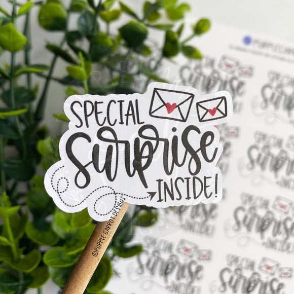 Special Surprise Inside Sticker©